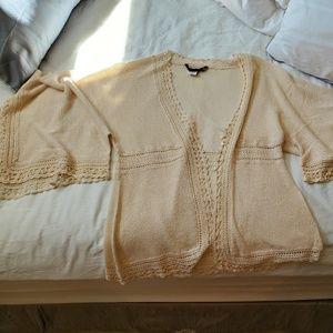 BCBC cardigan/ kimono cream color